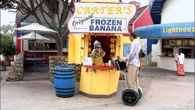 carter banana stand